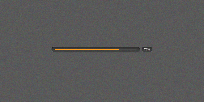 Clarity Progress Bar (Dark)