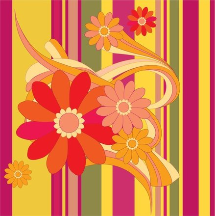 Vector Flower With