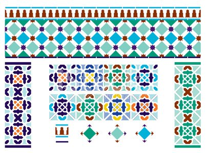 Tile,Pattern,Spanish Culture,Morocco,Tiled Floor,Moroccan Culture,Spain,Moorish,Alhambra,Seamless,Andalusia,Islam,Mosaic,Arabic Style,Decoration,Backgrounds,Ceramics,Cultures,Blue,Craft,Orange Color,Brown,Decor,Multi Colored,Green Color,Yellow,Wall Tile,Indigenous Culture,Continuity,Creativity,espanol,repeating pattern,vector illustration,workmanship,Clip Art,Oregon