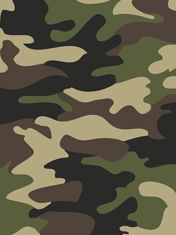 camouflage pattern background seamless vector illustration