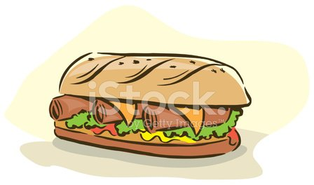 Sandwich,Food,Bread,Lunch,Vector,Ilustration,Snack,Meat,Art,Freshness,Healthy Eating,Food And Drink,hand drawn,Cheese,Pen And Ink