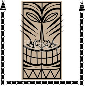 Tiki,Totem Pole,Surf Rock,Mask,Polynesia,Surf,Indigenous Culture,1950s Style,Party - Social Event,Big Island,Island,Sun,Flaming Torch,Hawaii Islands,Illustrations And Vector Art,Arts And Entertainment,1960,Holidays And Celebrations,Statue,swank,Parties,Cultures,Underground,Pacific Ocean,1950