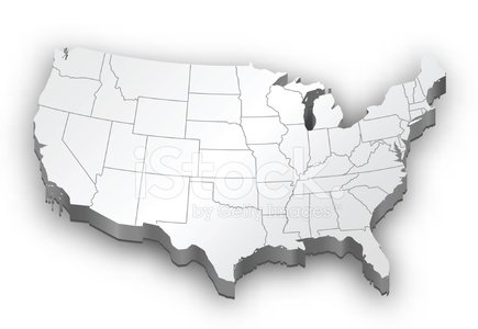 USA,Map,White,Vector,Ilustration,Physical Geography,Travel Locations,Illustrations And Vector Art,Nature