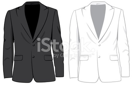 Jacket,Coat,Clothing,Design,Fashion,Black Color,Material,White,Illustrations And Vector Art,Isolated,Set,Front View,Vector