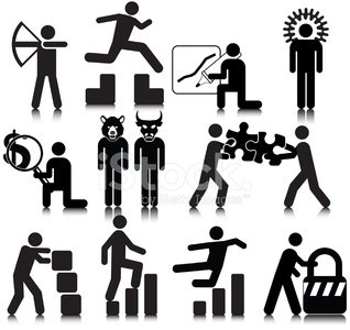 Stick Figure,Symbol,People,Archery,Jumping,Icon Set,Business,Finance,Building - Activity,Security,Falling,Black And White,Vector,Connection,Gear,Jigsaw Piece,Graph,Magnifying Glass,Concepts,Business,Vector Icons,People,Design Element,Business Concepts,Ilustration,Simplicity,Illustrations And Vector Art,Information Symbol,Padlock