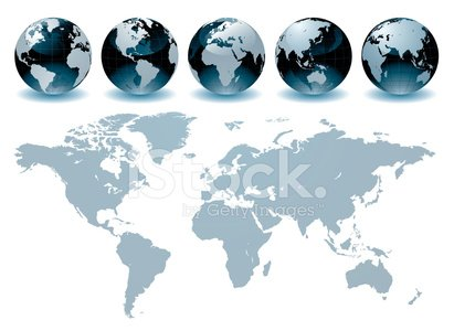 Globe - Man Made Object,World Map,Earth,Map,Planet - Space,Global Business,Global Communications,Japan,Cartography,USA,China - East Asia,Australia,The Americas,Asia,Vector,UK,Europe,India,Ilustration,North America,Canada,Africa,Physical Geography,South America,Computer Graphic,Isolated On White,Oceania,continent,Former Soviet Union,Land,Global Map