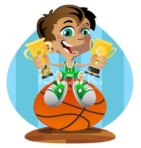 Basketball - Sport,Basketball,Child,Little Boys,Sport,Success,Trophy,Playing,Celebration,Babies And Children,Sports And Fitness,Vector Cartoons,Lifestyle,Team Sports,Victory,Sports Uniform,Happiness,Cheerful,Illustrations And Vector Art