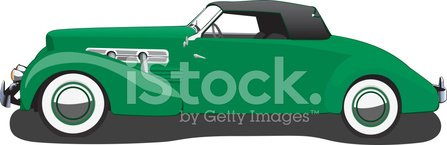 Car,Vintage Car,Collector's Car,Antique,Side View,Wheel,Vector,Status Car,1937,Old-fashioned,Speed,Green Color,Ilustration,Motor Vehicle,Sports And Fitness,Transportation,Transportation,Illustrations And Vector Art,Mode of Transport,Land Vehicle,Personal Land Vehicle,Convertible