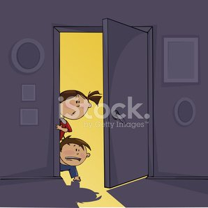 Domestic Room,Child,Door,Fear,Cartoon,Little Girls,Night,Halloween,Little Boys,Spooky,Silhouette,Childhood,Light - Natural Phenomenon,Dark,Ilustration,Inside Of,Black Color,Backgrounds,Horror,Halloween,Babies And Children,Season,Lifestyle,Wall,Elementary Age,Holidays And Celebrations,Holiday,Autumn,Vector Cartoons,Illustrations And Vector Art