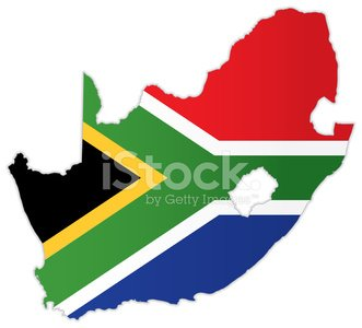 South Africa Map With Flag Stock Vectors 365psd Com