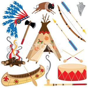 Teepee,North American Tribal Culture,Arrow,Indian Music,Cowboy,Canoe,Bow,Arrowhead,Headdress,Tomahawk,Wild West,Drum,American Bison,Feather,Campfire,Ilustration,Vector,Fire - Natural Phenomenon,Log,Icon Set,Axe,Isolated On White,Clip Art,Weapon,Travel Locations,Isolated Objects,Illustrations And Vector Art,Travel Backgrounds,Isolated-Background Objects,Vector Icons,Peace Pipe