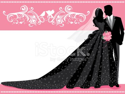 Wedding,Bride,Bridegroom,Silhouette,Couple,Love,Vector,Lace - Textile,Dove - Bird,Bouquet,Women,Rose - Flower,Ilustration,Loving,Evening Gown,Tuxedo,Formalwear,Veil,Tiara,Affectionate,Sleeve,Long Hair,Ornate,Illustrations And Vector Art,Holidays And Celebrations,People,Weddings