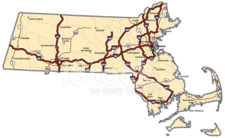 Massachusetts,Map,Cartography,Highway,Vector,Road Map,USA,Unity,county,Sea Passage,City Map,City,state,Thoroughfare,Multiple Lane Highway,Interstate,Street,Travel,Highway Map,Coastline,The Americas,Lake,Travel Locations,Sports And Fitness,Interstate Map,Illustrations And Vector Art