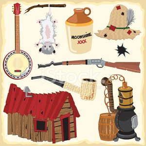 Hillbilly,moonshine,Shack,Banjo,Distillery Still,Country and Western Music,Cabin,Wild West,Jug,Ozark Mountains,Rural Scene,Old,Opossum,Hat,Icon Set,Vector,Barrel,Bullet Hole,Design Element,Straw,Clip Art,Pipe,Rustic,Rifle,Alcohol,Antique,Bent,Shotgun,Alcohol,Ilustration,Corncob Pipe,USA,Vector Cartoons,Vector Icons,Hanging,Homes,Architecture And Buildings,The Americas,Illustrations And Vector Art,Eye Patch