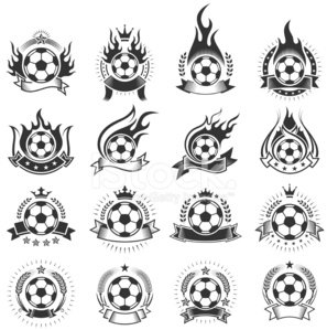 Soccer,Soccer Ball,Coat Of Arms,Fire - Natural Phenomenon,Flame,Ball,Insignia,Badge,Sport,Symbol,Computer Icon,Seal - Animal,King,Crown,Icon Set,Vector,Success,Banner,Ribbon,Star Shape,Queen,Floral Pattern,Nobility,Black And White,Winning,Ilustration,Set,Inferno,Collection,Digitally Generated Image,Black Color,Burning,Competition,Group of Objects,Competitive Sport,White Background