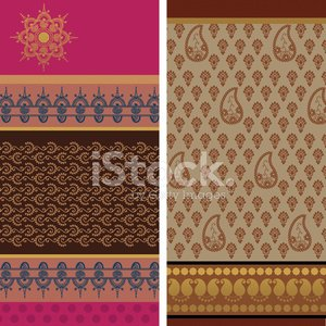 Bollywood,Pattern,Indian Culture,Print,Sari,Henna Tattoo,Paisley,Frame,Silk,Hinduism,Symbol,Mandala,filgree,Gold Colored,Fashion,Vector Backgrounds,Illustrations And Vector Art,Floral Pattern,Ilustration,Beauty And Health