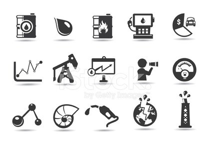 Oil Icons And Symbols Stock Vectors 365psd