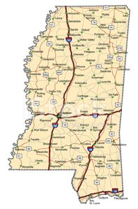 Mississippi,Map,Cartography,Highway,Road,Jackson - Mississippi,state,USA,county,Road Map,Unity,City Map,Vector,Highway Map,City,Street,Sports And Fitness,Interstate,Illustrations And Vector Art,Travel Locations,Coastline,Multiple Lane Highway,Travel,The Americas,Thoroughfare