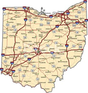 Ohio,Map,Cartography,Highway,Road Map,USA,Road,Columbus,City Map,county,state,Vector,Interstate,Unity,Street,Multiple Lane Highway,City,Highway Map,Travel,The Americas,Travel Locations,Sports And Fitness,Thoroughfare,Illustrations And Vector Art