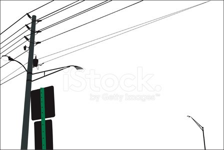 Street Light,Telephone Pole,Street,Telephone Line,Cable,Lighting Equipment,Transformer,Sign,Objects/Equipment,Lifestyle