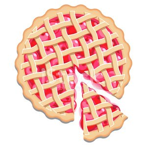 Cherry Pie,Tart,Slice,Directly Above,Serving Size,Lattice,Diner,Pastry Crust,Domestic Kitchen,Homemade,Food,High Angle View,Baked,Isolated,Baking,Cherry,Preparing Food,Cooked,Pudding,Fruits And Vegetables,Vector Backgrounds,Food And Drink,Illustrations And Vector Art,Sweet Food,Dough,Dining,Dessert,American Culture,Fruit,No People,Ilustration