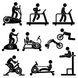 Gym,Symbol,School Gymnasium,Exercising,Treadmill,Rowing,Machinery,Sport,Ellipse,Cycling,Indoors,Relaxation Exercise,Silhouette,Men,Walking,Bicycle,People,Running,Jogging,Sitting,Dieting,Weights,Sign,The Human Body,Sports Training,Action,Healthy Lifestyle,Black Color,Recreational Pursuit,Riding,Endurance,Aerobics,Equipment,Work Tool,Leisure Activity,Lifestyles