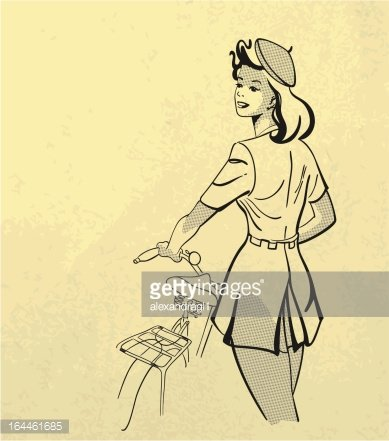 Square,White,Old,People,Activity,Motion,Lifestyles,Transportation,Sport,Black And White,Slim,Cycling,Holding,Bicycle,Black Color,Pattern,Old,Old-fashioned,Paper,One Person,Backgrounds,Healthy Lifestyle,1930,Teenager,Adult,Young Adult,Illustration,Women,Young Women,Teenage Girls,Half Tone,Leisure Activity,Vector,Retro Styled,Background,1930-1939,1940-1949,1950-1959,Illustrations And Vector Art
