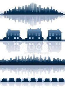 Home Interior,House,Silhouette,Residential District,Community,Residential Structure,Urban Skyline,Suburb,Urban Scene,City,Built Structure,Banner,Placard,Building - Activity,Construction Industry,Sparse,Modern,Real Estate,Business,Blue,Housing Development,Skyscraper,Cityscape,Architecture And Buildings,Housing Problems,Reflection,Color Gradient,Homes,Ilustration,Architecture Backgrounds,Collection