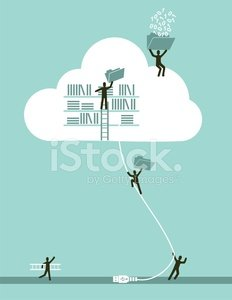Cloud - Sky,Technology,Cloud Computing,Action,Document,Library,File,Social Issues,Security Staff,Business,Computer Equipment,Ladder,People,Internet,Digital Tablet,Teamwork,E-Mail,Ideas,Computer,Cartoon,Human Hand,Global Communications,Connection,Discussion,E-commerce,Equipment,Organized Group,Growth,Wireless Technology,Men,Reaching,Ilustration,USB Cable,Global Business,Creativity,Blue,Success,Modern,Bodyguard,Imagination,Illustrations And Vector Art,Vector,Concepts