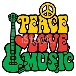 Symbols Of Peace,Music,Love,1960s Style,Peace Symbol,Peace Sign,Hippie,1970s Style,Placard,Rastafarian,Heart Shape,Reggae,1940-1980 Retro-Styled Imagery,Rock and Roll,Guitar,Yellow,Music Style,Retro Revival,Sign,Green Color,Acoustic Guitar,Black Color,Red,Design,Clip Art,Tricolor,Musical Note,Style,Ilustration,Multi Colored,Colors,Mod