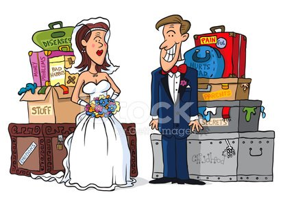 Wedding,Married,Luggage,Therapy,Bride,Couple,Prenuptial Agreement,Currency,Bridegroom,Cartoon,Heterosexual Couple,Negative Emotion,Contract,Suitcase,Debt,Illness,Justice - Concept,Bag,Bonding,Vector,Togetherness,Worried,Uncertainty,Newlywed,Physical Injury,Problems,Whispering,Altar,Dishonesty,Camouflage,Surprise,Mystery,Emotion,Dedication,Childhood,Addiction,Truth,Wedding Ceremony,Respect,Ilustration,Pain,Serene People,Hide,Ceremony,Isolated On White,Guilt,Shock