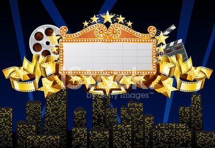 Movie Theater,Theater Marquee,Marquee Tent,Movie,Film Slate,Camera Film,Theatrical Performance,Star Shape,Sign,Gold,Gold Colored,Industry,Film Reel,Illuminated,Film Industry,Cinematographer,Commercial Sign,Stage Theater,Red,Urban Scene,Equipment,advertise,Celebration,Billboard,Film,Banner,Vector,Art,Placard,Backgrounds,Ilustration,Entertainment,Yellow,Shiny,Blackboard