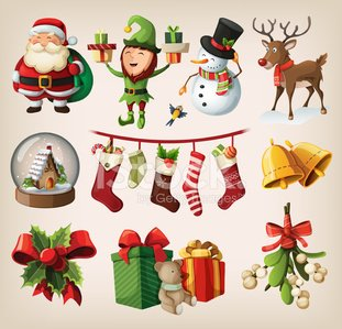 Christmas,Characters,Santa Claus,Reindeer,Elf,Set,Scarf,Bear,Vector,Snowman,Decoration,Christmas Tree,Collection,Candy,Deer,Snowball,Holly,Bell,Multi Colored,Gift,Bird,Design Element,Hat,Mistletoe,House,Comfortable,Sock,Teddy Bear,Holiday,New Year,Bow,Bow,Cane,Ornate,Ribbon,holly tree,Cute,Season,Ilustration,Winter,Berry Fruit,Box - Container,Celebration,December,Smiling