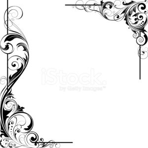 Angle,Corner,Frame,Growth,Scroll Shape,Black Color,Flower,Ornate,Design Element,Part Of,Retro Revival,Silhouette,filigree,Spotted,Single Line,Swirl,Sparse,Plan,Decoration,Pattern,Single Flower,Modern,Design,Vector,Rococo Style,Old,Beautiful,Ilustration,Elegance,Victorian Style,Outline,Curve,Baroque Style,Spiral,Isolated,Cartouche,Shape,Abstract,Vignette,Twisted,Classical Style,Art,Leaf,Intricacy