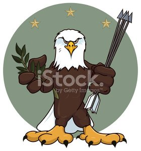 Arrowhead,Eagle - Bird,Muscular Build,Bird,Olive Branch,Gripping,Pectoral Muscle,Symbols Of Peace,Fist,Beak,Bird of Prey,Bald Eagle,Bicep,Star Shape,Talon,Wing,Power,Aggression,Feather,Strength,Claw,Patriotism,Staring,Arrow,Abdominal Muscle