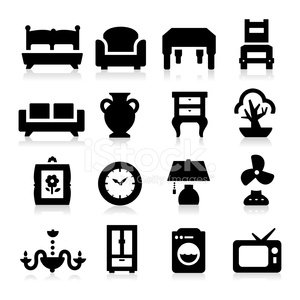 Computer Icon,Icon Set,Home Decorating,Domestic Life,Chair,Sofa,Vase,Home Interior,Black Color,Silhouette,Group of Objects,Chandelier,Bed,Living Room,Residential Structure,Vector,Desk,Appliance,Electric Fan,Television Set,Clock,Television Broadcasting,Paintings,wall clock,Drawer,Frame,Filing Cabinet,Washing Machine,Closet,Set,Cabinet,Lighting Equipment,Bonsai Tree,Photograph,Isolated,Electric Lamp,Painted Image,Table,Inside Of,Double Bed,Ilustration,Equipment,Tree,Collection