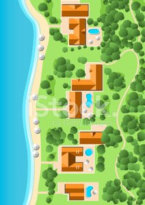 Tree,Map,Aerial View,Cartography,High Angle View,Landscaped,Landscape,Plan,Apartment,Forest,Cartographer,Sea,Tourist Resort,City,Town,Built Structure,Roof,Building Exterior,Land,Architecture,Real Estate,Beach,Rural Scene,Physical Geography,Vacations,Village,Suburb,Topography,House,Villa,Coastline,Summer,Development,Sand,Cottage,Water,sea line,Midtown,Residential Structure,Pool Game,Nature,Environmental Conservation,architecture design,Downtown District,Green Color,Housing Development