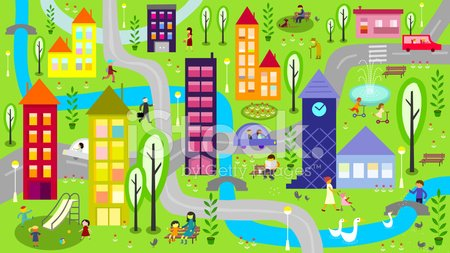 Urban Scene,Child,City,Playground,People,Park - Man Made Space,House,Playing,City Life,Outdoors,Global Village,Community,Walking,Fun,Vector,Tree,Ilustration,Park Bench,Residential District,Bench,Clock Tower,Environment,Bridge - Man Made Structure,Architecture,Cartoon,Activity,River,Day,Driving,Push Scooter,Sports Activity,Human Gender,Horizontal,Leisure Activity,Lifestyles,Relaxation,Routine,Car,Transportation,Mother,Group Of People,Unrecognizable Person,Recreational Pursuit