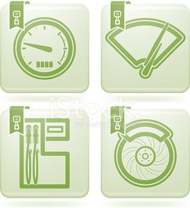 Car,Sign,Outline,Vector,Symbol,Speedometer,Fuel Pump,Windshield Wiper,White Background,Peridot,Graph,Land Vehicle,disc brake,Car Wiper,Vehicle Part,Part Of,Green Color,White