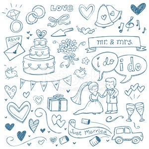 Wedding,Sketch,Ilustration,Doodle,Wedding Cake,Bridegroom,Wedding Ring,Drawing - Art Product,Bird,Diamond,Pencil Drawing,Engagement Ring,Car,Heart Shape,Vector,Gift,Diamond Ring,Wedding Vows,Musical Note,rsvp,Single Flower,Just Married,Bride,Newlywed,Ribbon,Can,Scroll Shape,Invitation,Bow,Hand-drawn,Clip Art,Bouquet,Solitaire,Incomplete,Bow,wedding bells,Speech Bubble,Banner,Champagne