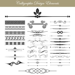 Design Element,Page,Frame,Old-fashioned,Dividing,Calligraphy,Retro Revival,Flourish,Ornate,Invitation,Christmas,Splashing,Formalwear,Elegance,Greeting Card,Floral Pattern,Classic,Victorian Style,Certificate,Label,Document,Decoration,filigree,Scroll Shape,Celebration,Vector,Ruler,Menu,Greeting,Style,Book,Classical Style,Swirl,typographic,foliate,1940-1980 Retro-Styled Imagery,Ilustration,Design,Nostalgia,Vignette