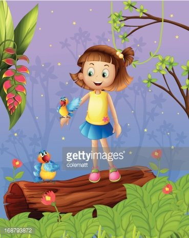 Computer Graphics,People,Image,Nature,Animal,Plant,Bird,Green Color,Multi Colored,Parrot,Macaw,Vine - Plant,Land,Leaf,Small,Banana,Woodland,Forest,Tropical Rainforest,Photograph,Computer Graphic,Child,Teenager,Adult,Illustration,Females,Women,Teenage Girls,No People,Vector,Pets,Rainforest,Clip Art,Female