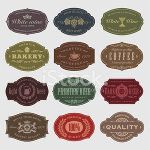 Retro Revival,Label,Placard,Sign,Obsolete,Shield,Vector,Crown,Coffee - Drink,Unicorn,Leaf,Grape,History,premium,Insignia,Silhouette,Symbol,European Culture,heraldic,Floral Elements,Cup,Vector Elements,Art,Ilustration,natural product,Single Flower,Premium Quality,Elegance,Wine Label,docket,Set,Vintage Elements,Design Element,Beer Label,Design