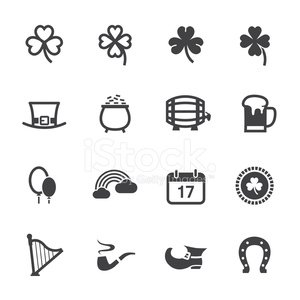 Four Leaf Clover,Pot Of Gold,Clover,Treasure,Icon Set,Cooking Pan,Beer Glass,Currency,Horseshoe,Badge,Northern Ireland,Irish Culture,Balloon,Harp,Happiness,Rainbow,Beer - Alcohol,Shoe,Green Beer,Celebration,Award Ribbon,Coin,Hat,White Background,Leaf,Cultures,Springtime,Decoration,Alcohol,Gold,Luck,Lager,St. Patrick's Day,Holiday,Vector,Pub,Frothy Drink