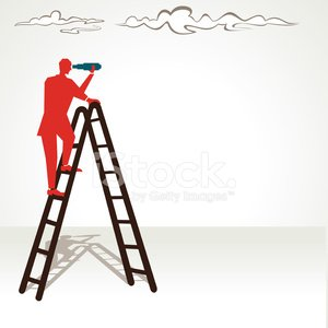 Binoculars,Searching,Ladder,Discovery,Hand-Held Telescope,Risk,Leadership,Blue,Clambering,Solution,Business,Staircase,Cloud - Sky,Finding,Men,Vector,Occupation,Businessman,Leading,Currency,Cartoon,Steps