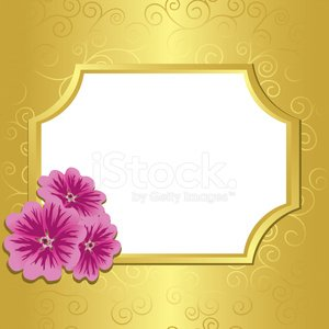 Gold Colored,Vector,Ilustration,Flower,Nature,Light - Natural Phenomenon,Season,Decor,Shiny,Tracery,Curled Up,Greeting Card,Petal,Grass,Frame,Ornate,Floral Pattern,Midsection,Summer,Plant,Decoration,vinous,Color Gradient,Textured Effect,Pattern,Curve,Backgrounds,Yellow,White,Purple,Mallow