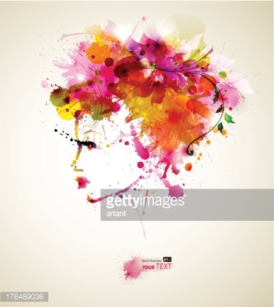 Computer Graphics,People,Image,Creativity,18-19 Years,Human Body Part,Human Head,Human Face,Hairstyle,Looking,Red,Multi Colored,Flower,Backgrounds,Beauty,Computer Graphic,Adult,Young Adult,Art And Craft,Art,Abstract,Watercolor Painting,Illustration,Women,Young Women,Portrait,Vector,Fashion,Blob,Adults Only,Beautiful People,Background,Clip Art,Design Element