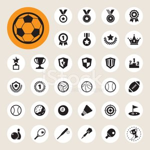Soccer Ball,Computer Icon,Symbol,Soccer,Football,Trophy,Sport,Award,Rugby,Basketball,Sports Team,Softball - Ball,Golf,Shield,Baseballs,Star Shape,Celebrities,Leadership,Ball,First Place,Racket Sport,Bowling,Volleyball,Archery,Timer,Rugby Ball,Award Ribbon,Table Tennis,Vector,Metal,Competitive Sport,Honor,Success,Pool Ball,Badminton,Medal,Design,Tennis,Satisfaction,Cup