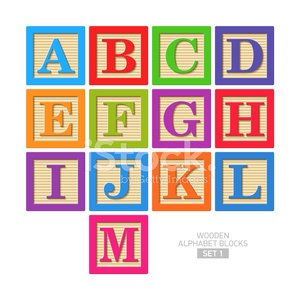 Toy Block,Alphabet,Alphabetical Order,Wood - Material,Preschool,Vector,Collection,Toy,Leisure Games,Equipment,Education,Set,Learning,Style,Vibrant Color,Leisure Activity,Play,Color Image,Teaching