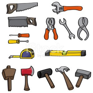 Work Tool,Level,Tape Measure,Construction Industry,Hammer,Wrench,Screwdriver,Home Improvement,Wood - Material,Home Interior,Instrument of Measurement,Hand Saw,Measuring,Rip Saw,Computer Graphic,Improvement,Rubber,Vector,Cartoon,Axe,Mallet,Pliers,Construction Worker,Design Element,Socket Wrench,Eps10